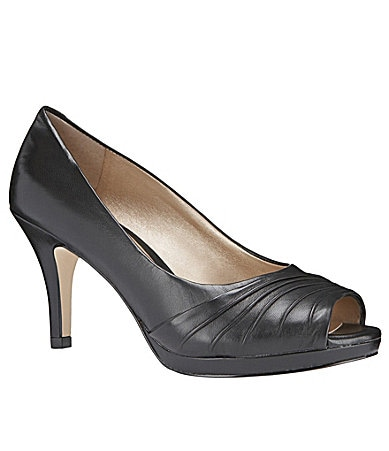 Alex Marie Perla Peep-Toe Pumps