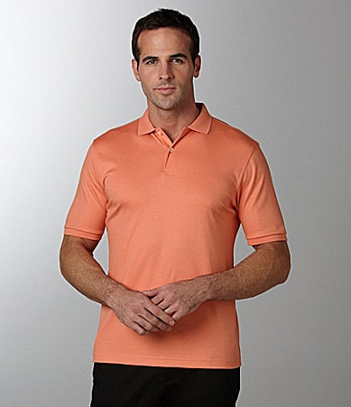 Murano Liquid Luxury Big & Tall Solid Polo Shirt