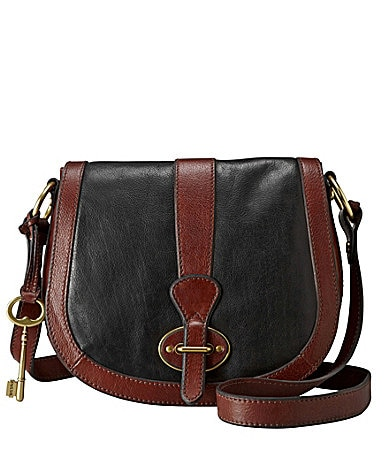Fossil Vintage Re-Issue Flap Cross-Body Bag