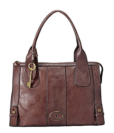 Fossil Vintage Re-Issue Top Zip Satchel