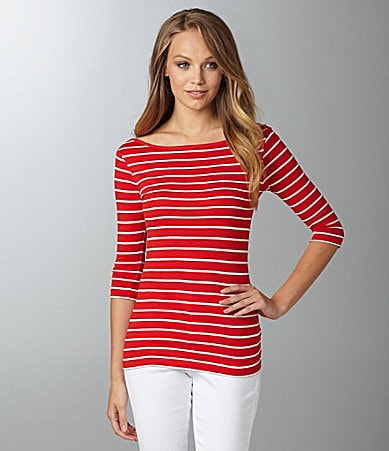 French Connection Susu Stripe Top