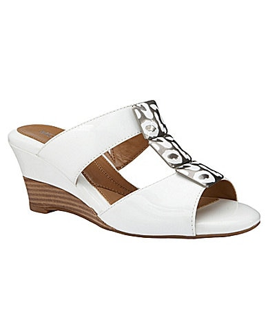 Michelle D Cheri Wedge Sandals