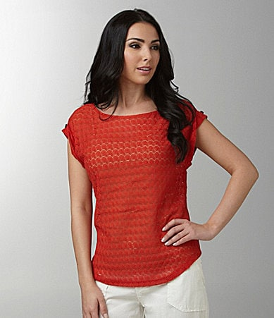 Sanctuary Clothing Shirttail Knit Top