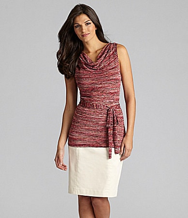 Alex Marie Pavla Cowlneck Knit Top & Miranda Skirt