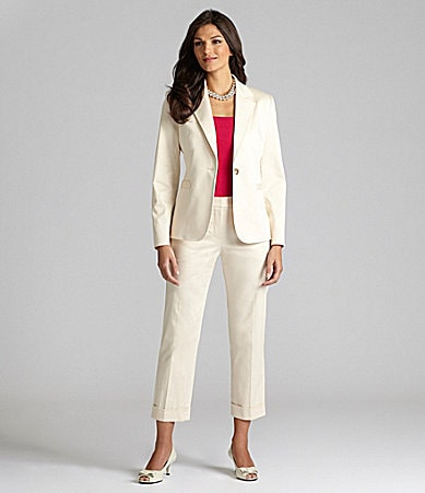 Alex Marie Petites Nicole Jacket, Pammy Knit Top & Marie Ankle Pants