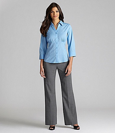 Alex Marie Petites Evelyn Corset Blouse & Mariah Wide-Waist Pants