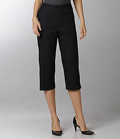 Westbound PARK AVE fit SLIM FX Denim Capri Pants