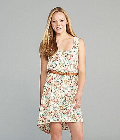 B. Darlin Printed High-Low Dress