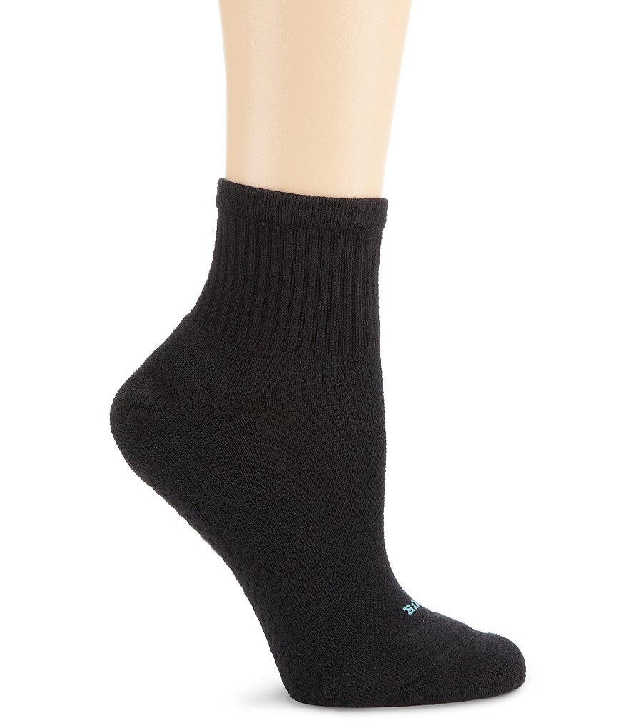 HUE Air Cushion Sport Mini Crew Socks 3-Pack