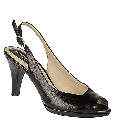 Naturalizer Ideal Peep-Toe Slingback Pumps