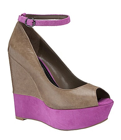 Jessica Simpson Carrac Peep-Toe Wedges