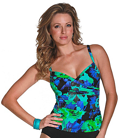 Magicsuit Tribal Floral Edie Tankini Top