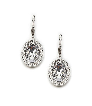 Cezanne Crystal Drop Earrings
