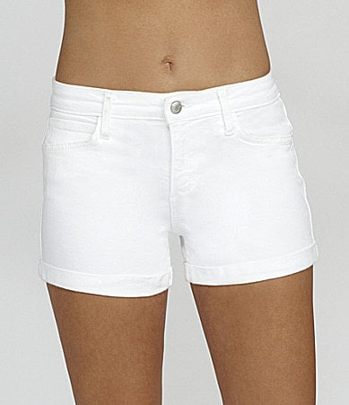 Joe�s Jeans Cuffed Stretch-Denim Shorts