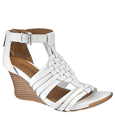 Kenneth Cole Reaction Warm Cedar Wedge Sandals