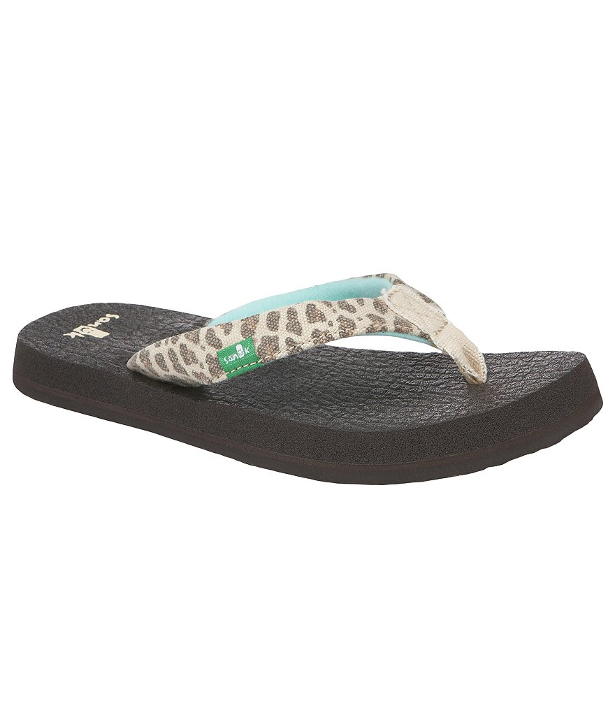 Sanuk Yoga Mat Wildlife Girls´ Flats