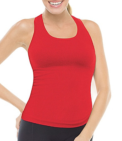 Spanx Active Ribbed Racerback Tank