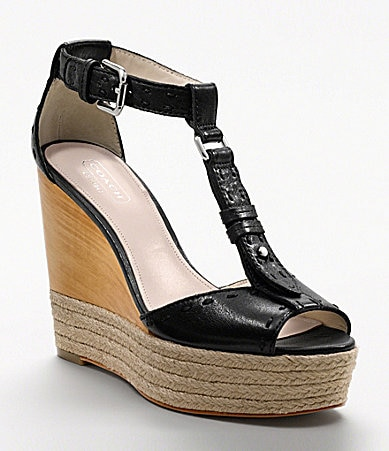 COACH GALA WEDGE
