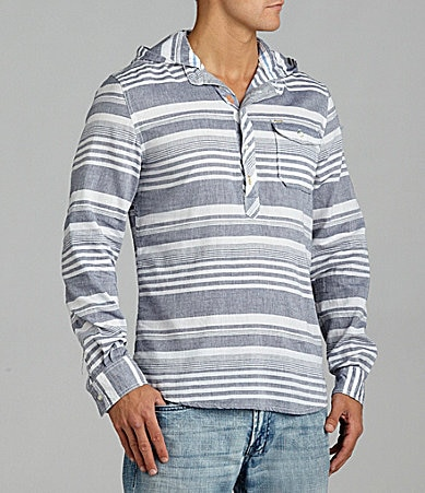 Buffalo David Bitton Sinizern Hooded Pullover Shirt