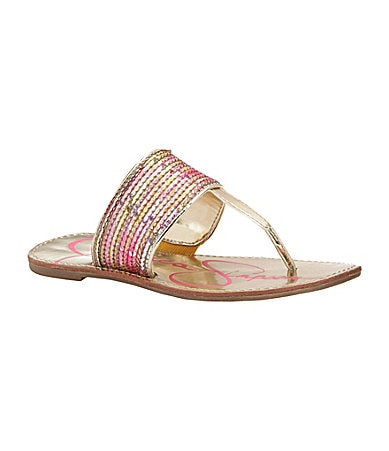 Jessica Simpson Girls� Millie Slip-On Sandals