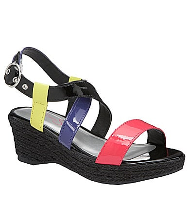 Jessica Simpson Girl's Bendie Wedge Sandals