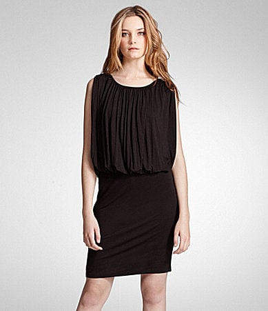 Kenneth Cole New York Blouson Bodice Dress