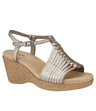 Clarks Lilly Hip Wedge Sandals