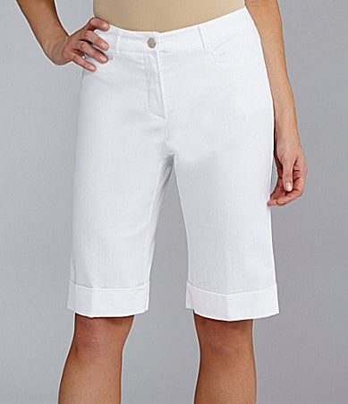 TanJay Stretch Comfort Waist Shorts