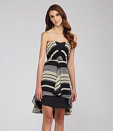 MM Couture by Miss Me Sweetheart Stripe Dress