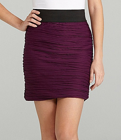 Soulmates Draped Knit Skirt