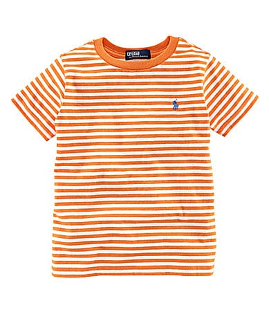 Ralph Lauren Childrenswear 2T-7 Striped Jersey Tee