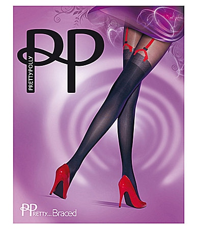 Pretty Polly Braced Suspender Tights