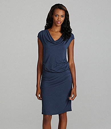 Kenneth Cole New York Cowlneck Dress