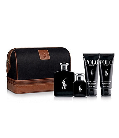 Ralph Lauren Fragrances Polo Black Travel Kit