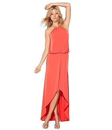 Laundry by Shelli Segal Jersey Hi-Low Gown
