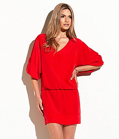 Laundry by Shelli Segal V-Neck Dress