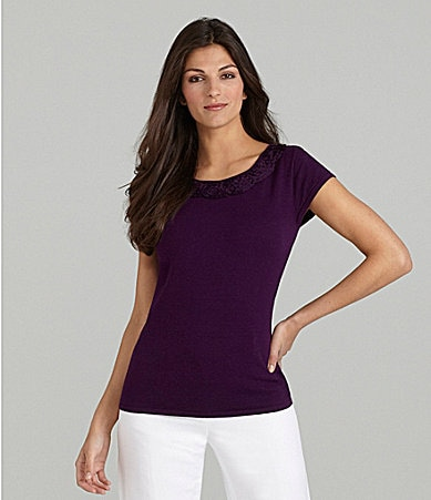 Alex Marie Petites Carla Knit Top