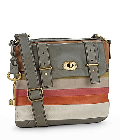 Fossil Mason Top Zip Cross-Body