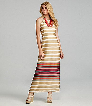 Cremieux Kristine Stripe Maxi Dress