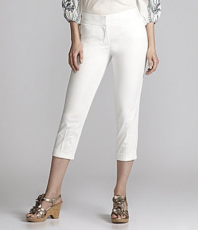 Nurture Slim-Leg Crop Pants