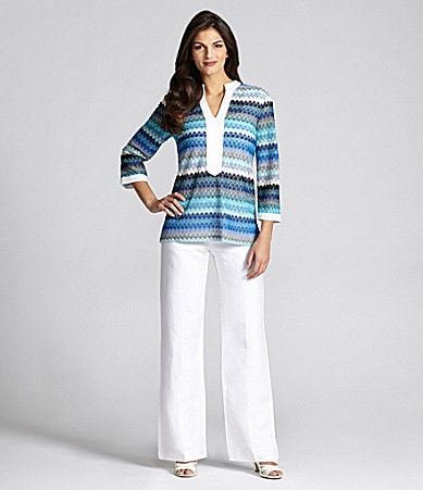 Alex Marie Hallie Tunic Blouse, Pammy Knit Top & Marianne Pants