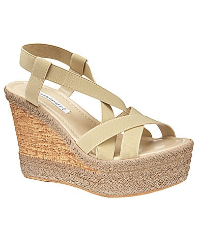 Charles David Fare Wedge Sandals