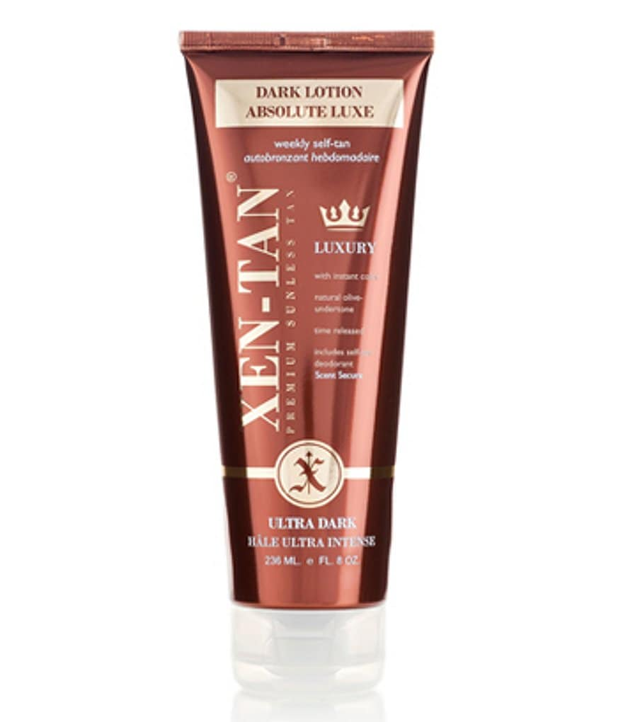 Xen-Tan Premium Sunless Tan Dark Lotion Absolute Luxe