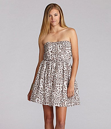 GB Animal Printed Tube Dress