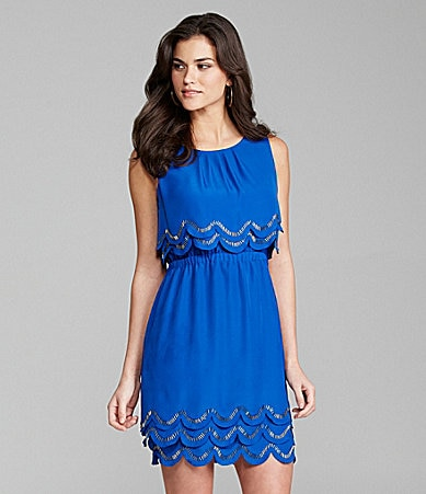 Gianni Bini Minka Sleeveless Tiered Dress