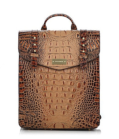 Brahmin Toasted Almond Collection Marilyn Backpack