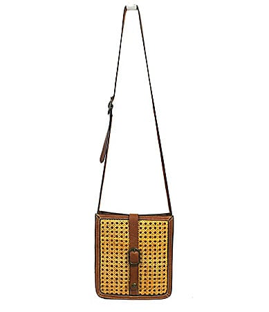 Patricia Nash Wicker Venezia Cross-Body Bag
