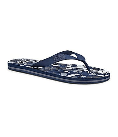 UGG Australia Men�s Keppel Paint Splatter Thong Sandals