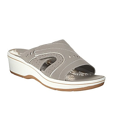 Clarks Daisy Sprout Slide Sandals