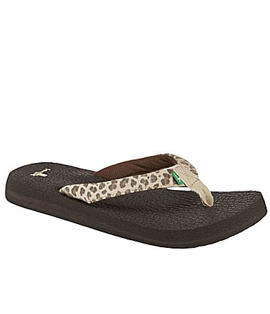 Sanuk Yoga Wildlife Thong Sandals